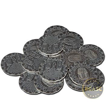1/4 oz Silver Rounds MPM Egyptian .999 Fine Fractional Silver Bullion - Image