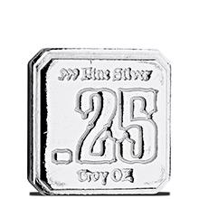 1/4 oz Silver Suns of Liberty .25 Quarter Sun .999 Fine