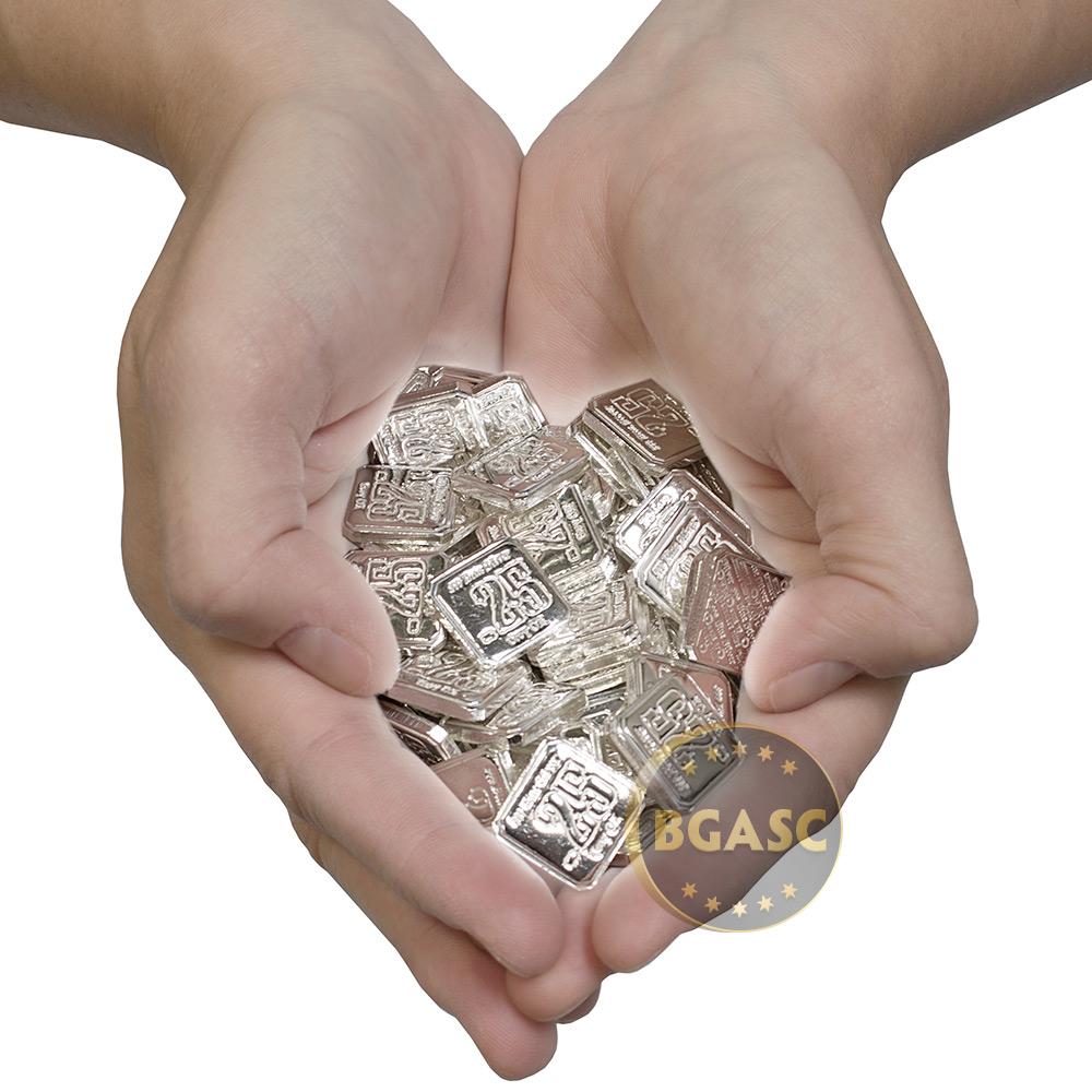 Buy 10 Oz Bag Of 1 4 Oz Silver Suns Of Liberty 999 Fine