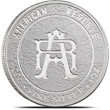 1 oz Silver Rounds American Reserve .999 Fine Silver Bullion