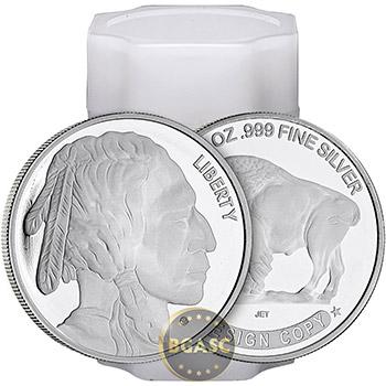 Monster Box of 1 oz Buffalo Silver Rounds .999 Fine Silver Bullion - Image