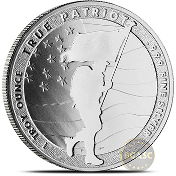 1 oz Silver Rounds 2020 True Patriot .999 Fine Silver Bullion - Image