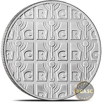 1 oz Silver Rounds Republic Metals RMC .999 Fine Silver Bullion - Image