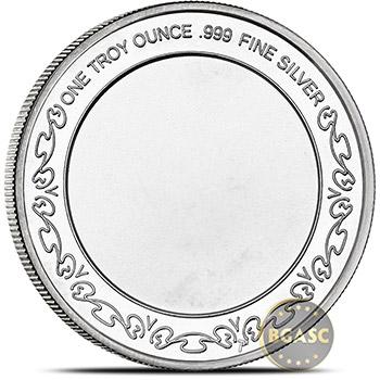 1 oz Silver Rounds SilverTowne Liberty Eagle .999 Fine Silver Bullion - Image