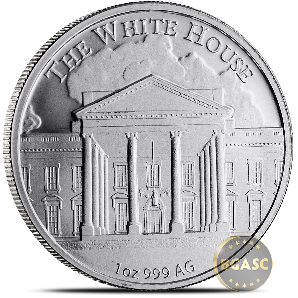 Buy 1 Oz Silver Donald Trump Rounds 999 Fine Silver Coin