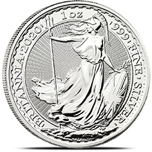 2020 1 oz Silver Britannia .999 Fine Silver Bullion Coin Brilliant Uncirculated