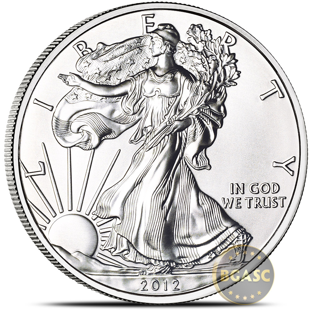 Buy 2012 1 Oz American Silver Eagle Bullion Coin 999 Fine
