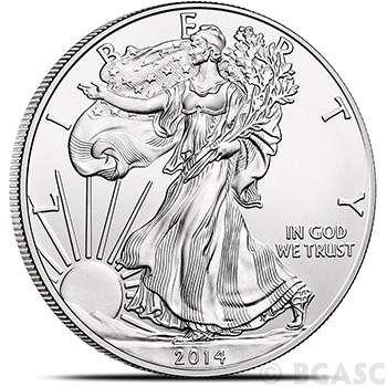 2014 1 oz American Silver Eagle Bullion Coin .999 Fine Uncirculated
