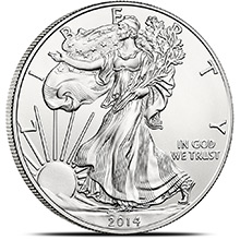 2014 1 oz American Silver Eagle Bullion Coin .999 Fine - Uncirculated