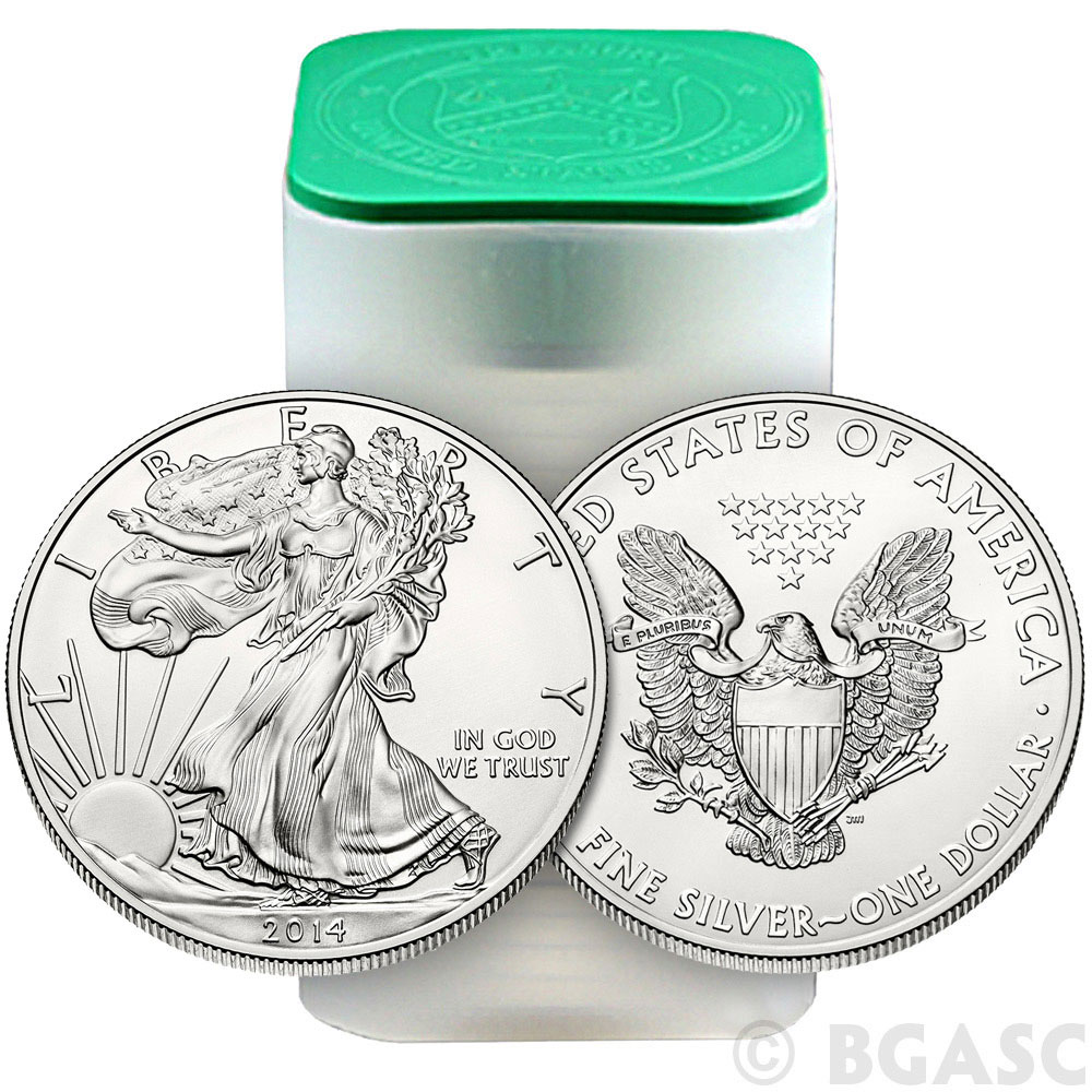 Buy 2014 1 Oz American Silver Eagle Bullion Coin 999 Fine