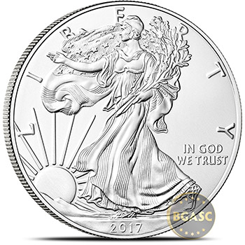 2017 1 oz American Silver Eagle Bullion Coin .999 Fine - Uncirculated