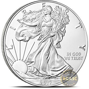 2017 1 oz American Silver Eagle Bullion Coin .999 Fine Brilliant Uncirculated