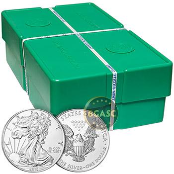 2018 1 oz American Silver Eagle Bullion Coin .999 Fine Brilliant Uncirculated - Image