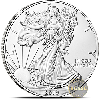 2019 1 oz American Silver Eagle Bullion Coin .999 Fine Brilliant Uncirculated - Image