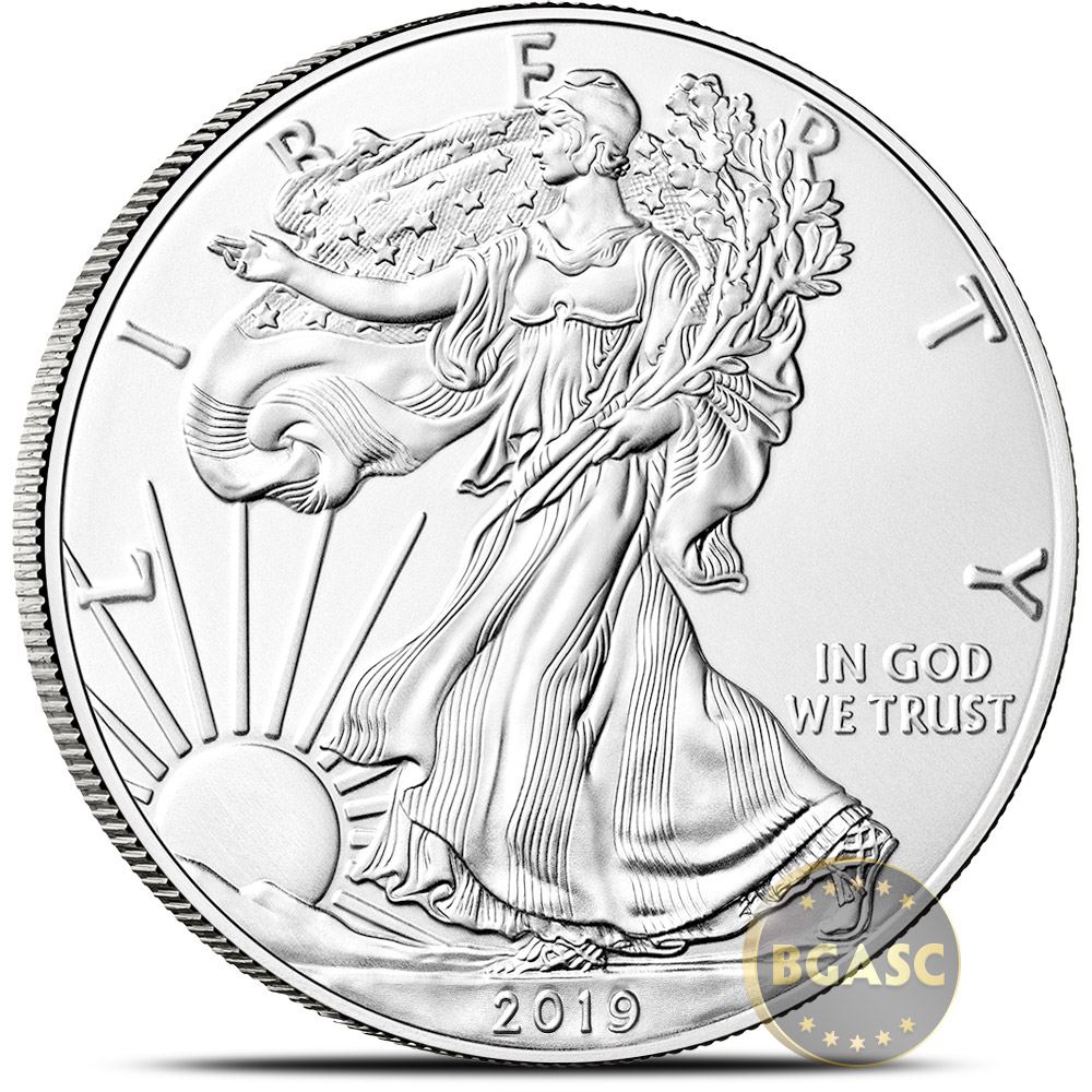 Buy 2019 1 Oz American Silver Eagle Bullion Coin 999 Fine