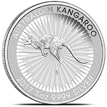 2017 Australian 1 oz Silver Kangaroo .9999 Fine Brilliant Uncirculated