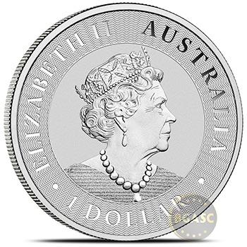 2020 Australian 1 oz Silver Kangaroo .9999 Fine BU - Image
