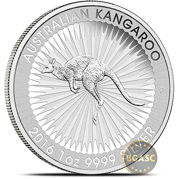 1 oz Australian Silver Kangaroo Bullion Coin .9999 Fine - Circulated (Random Year)