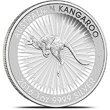 1 oz Australian Silver Kangaroo Bullion Coin .9999 Fine - Circulated (Random Year)