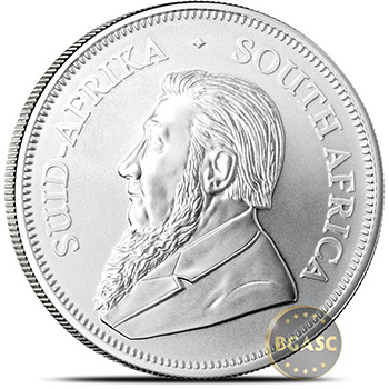 2018 1 oz Silver Krugerrand South African Bullion Coin .999 Fine BU - Image