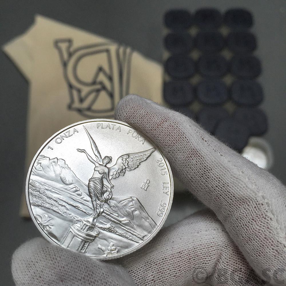 Buy 2015 1 Oz Silver Mexico Libertad 999 Fine Silver