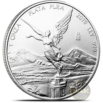 2019 1 oz Silver Mexico Libertad .999 Fine Silver Bullion Coin Brilliant Uncirculated