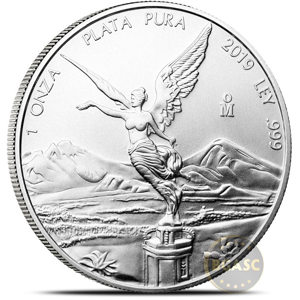 Buy 2019 1 Oz Silver Mexico Libertad 999 Fine Silver