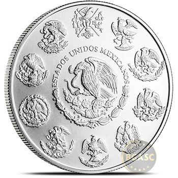 2019 1 oz Silver Mexico Libertad .999 Fine Silver Bullion Coin BU - Image