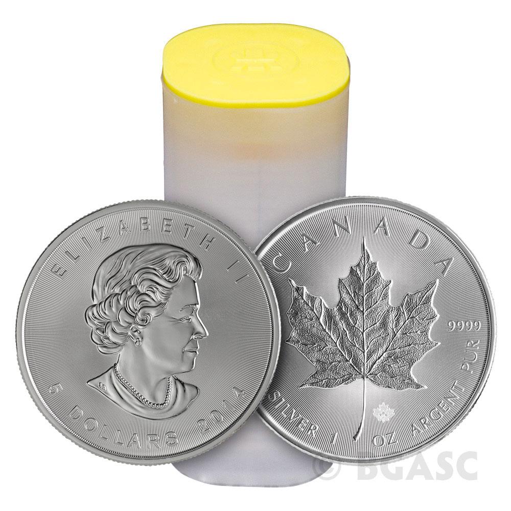 Buy 2014 1 Oz Silver Canadian Maple Leaf Bullion Coin