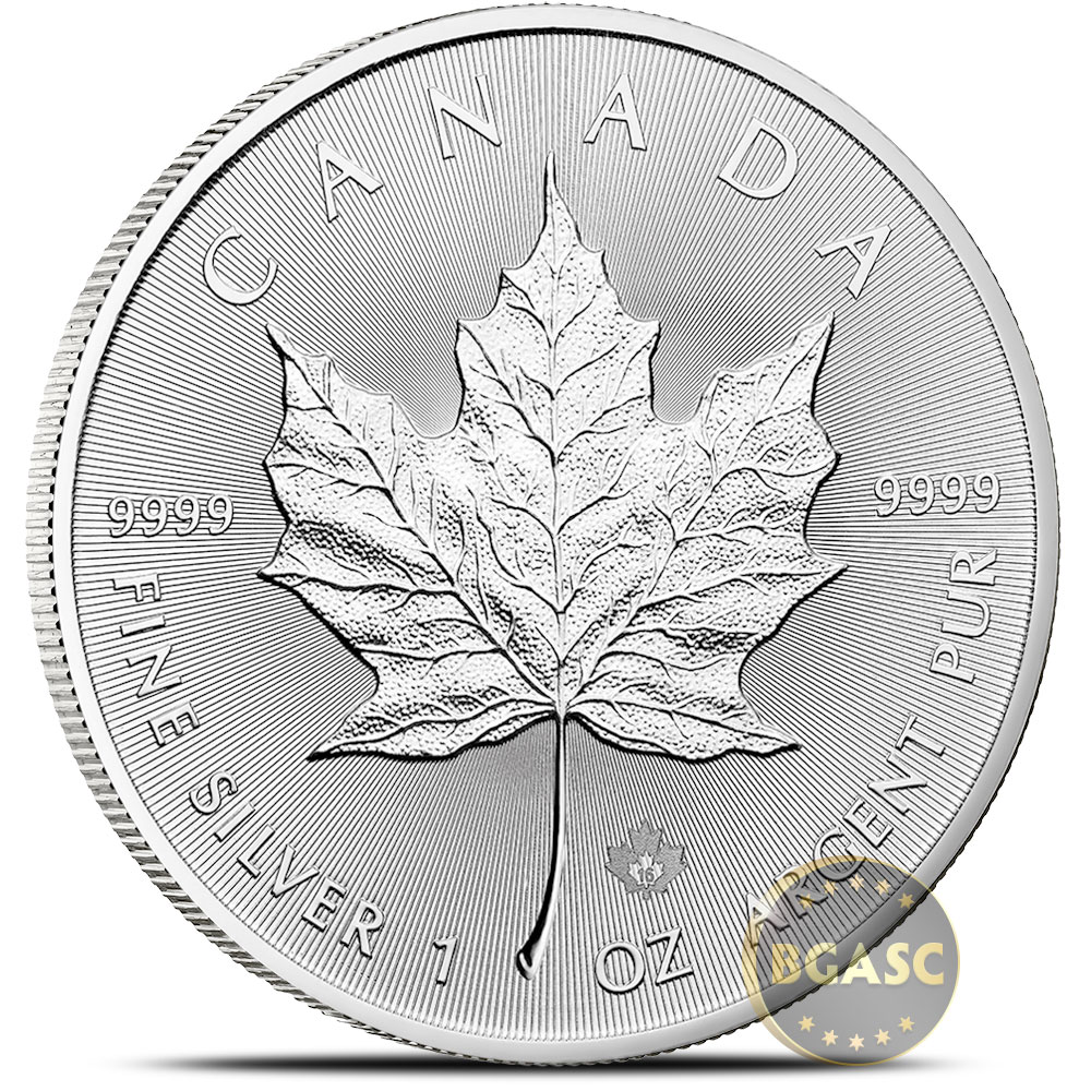 Buy 2016 1 Oz Silver Canadian Maple Leaf Bullion Coin