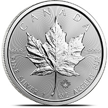 2020 1 oz Silver Canadian Maple Leaf Bullion Coin .9999 Fine Brilliant Uncirculated