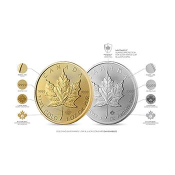 Mint Sealed Monster Box of 2021 1 oz Silver Canadian Maple Leaf .9999 Fine BU - Image