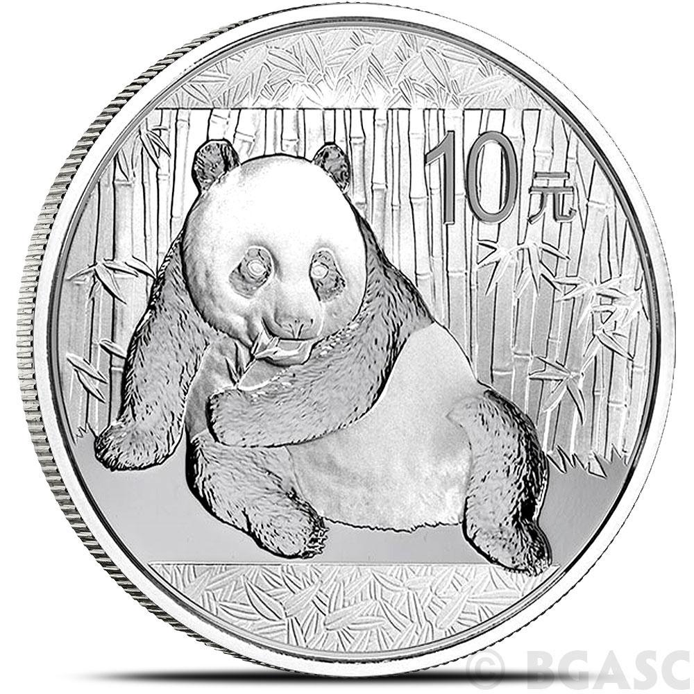 Buy 2015 1 Oz Silver Panda 999 Fine 10 Yuan Chinese