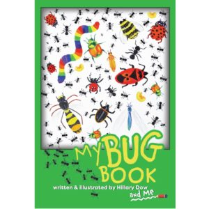 My Bug Book interactive children's book by Hillary Dow