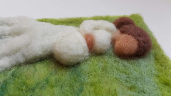 Expecting Mother Maternity 3D wool fiber painting