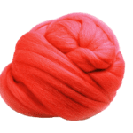 Red-Wool-Roving