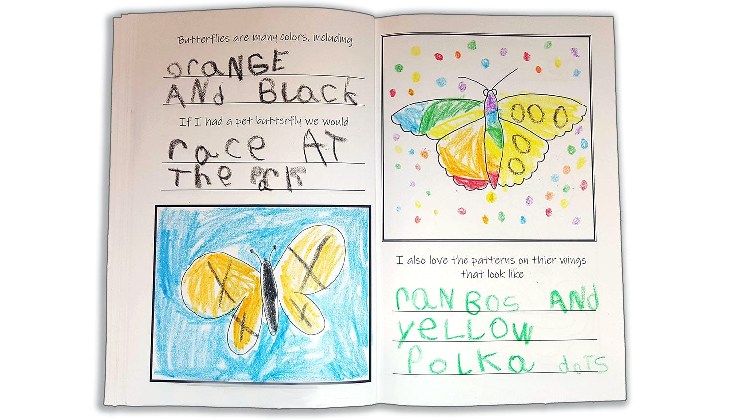Butterflies-Make-Your-Own-Childrens-Book