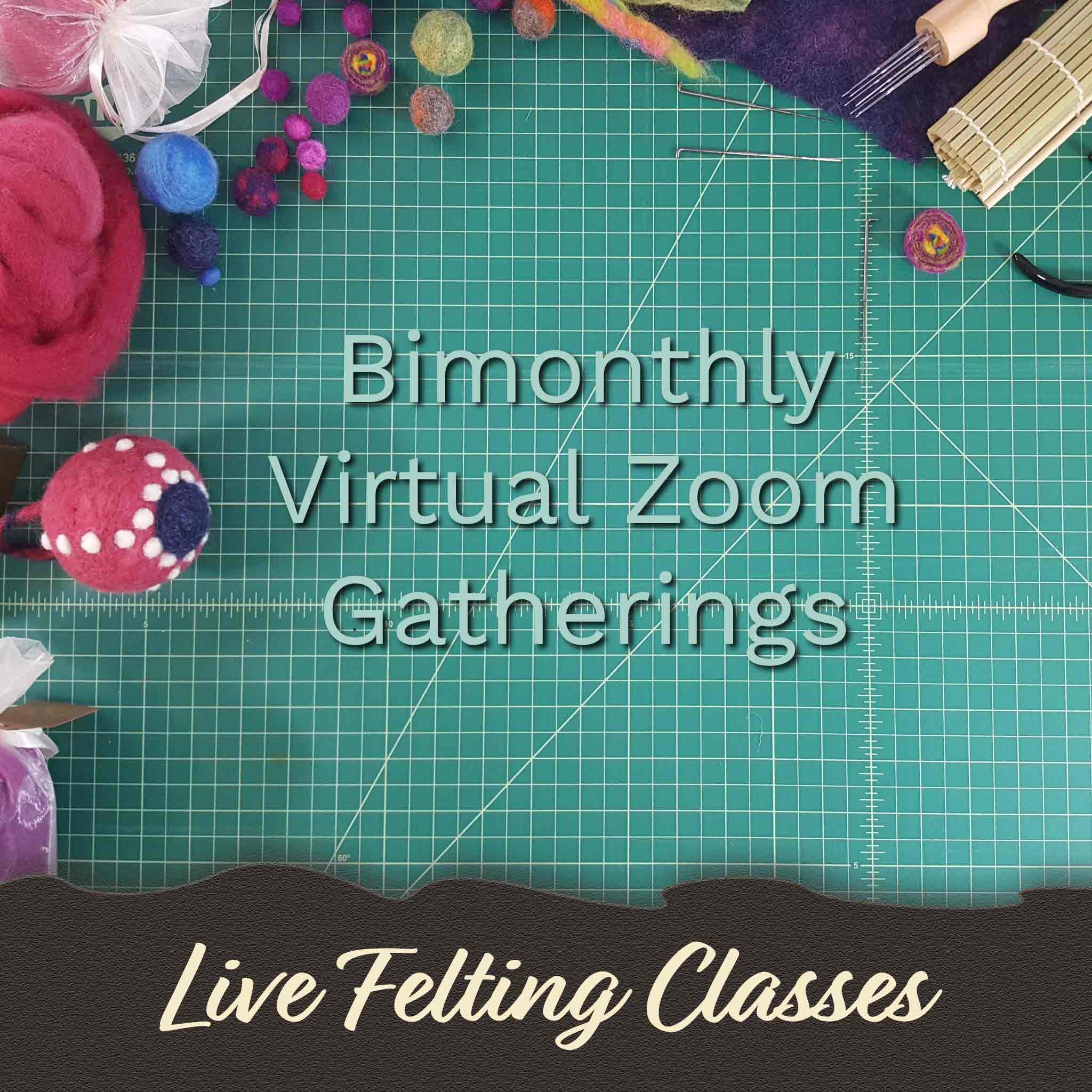 Live felting classes