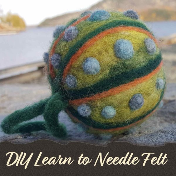 Lichendia-Needle-Felt-Ornament-learn-to-diy-Kineo