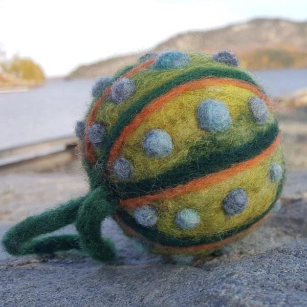 Lichendia Felted Ornamental Balls Hillary Dow