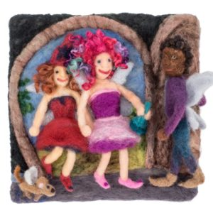 Fairy Friends, Lichendia, Fairy Spells and Strawberry Elves by Hillary Dow