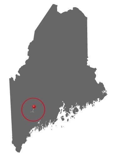 Author Visits Maine-25-mile-radius-of-Lewiston-Map