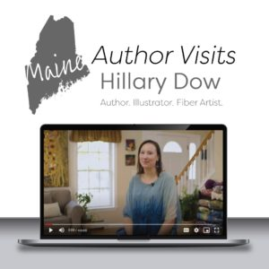 Author-Visits-with-Hillary-Dow-Maine-artist