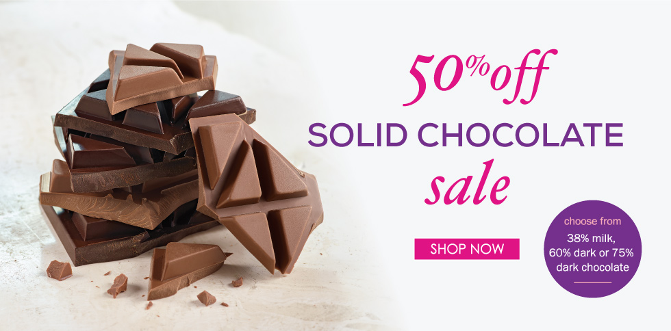 Solid Chocolate Sale