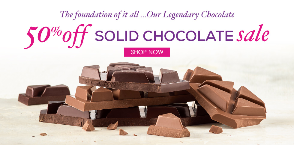 Solid Chocoalte Sale
