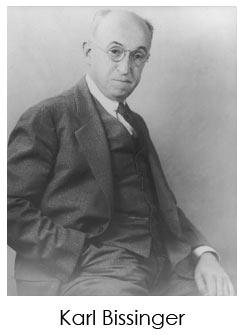Karl Bissinger, Founder