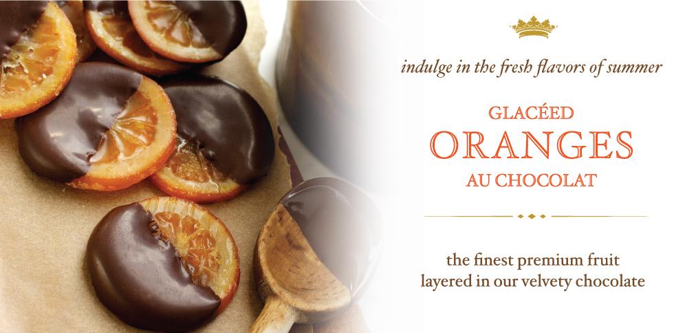 Bissinger's Oranges au Chocolat