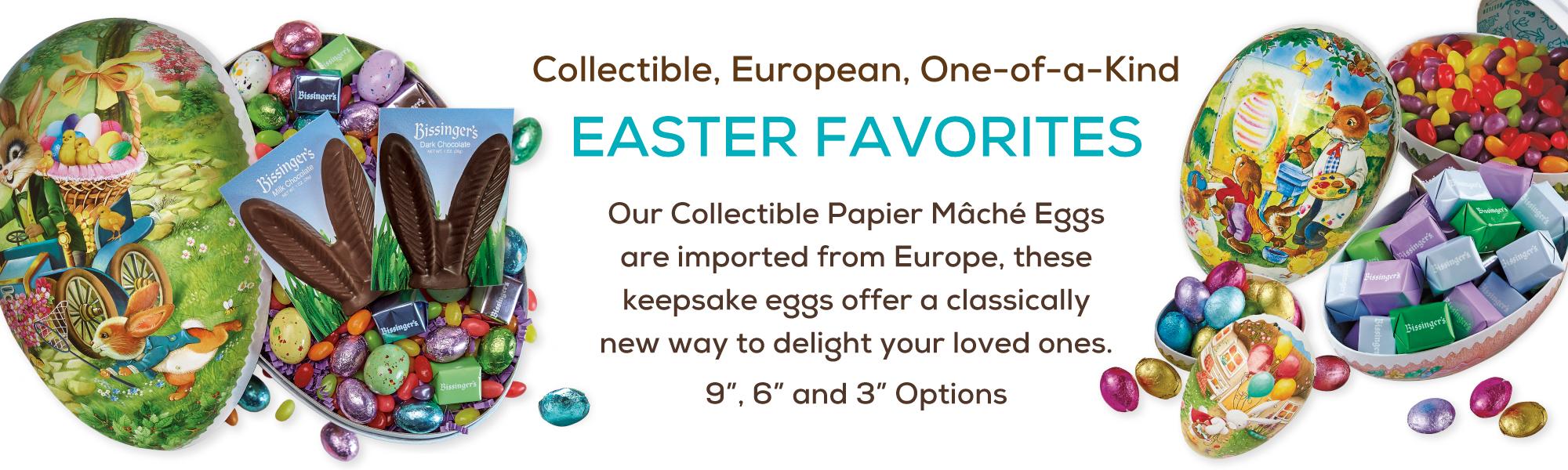 Easter Papier Mache Eggs