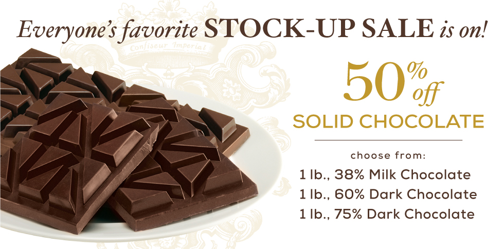 Bissinger's Solid Chocolate Sale