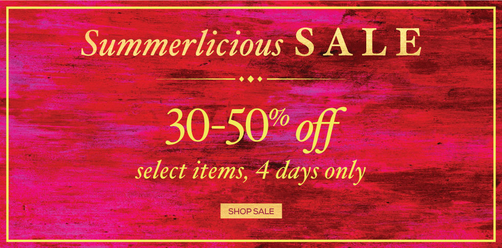 Summerlicious Sale!
